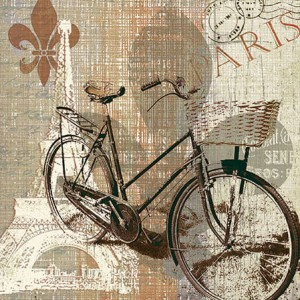 Serwetki papierowe Lunch 33x33 MY OLD-FASHIONED BIKE