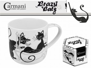 Kubek Carmani - Crazy Cats
