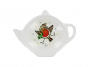 Tea Bag Skapka - Robin Holly Bug Art