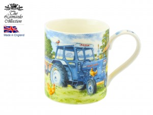 Kubek Blue Tractor - Leonardo England Collection