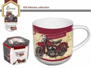 Kubek Old Vehicles - Harley Davidson